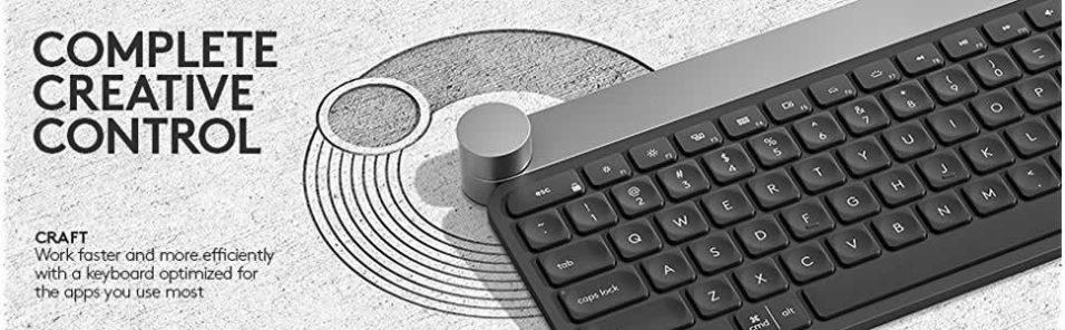 Logitech Craft kabellose Tastatur